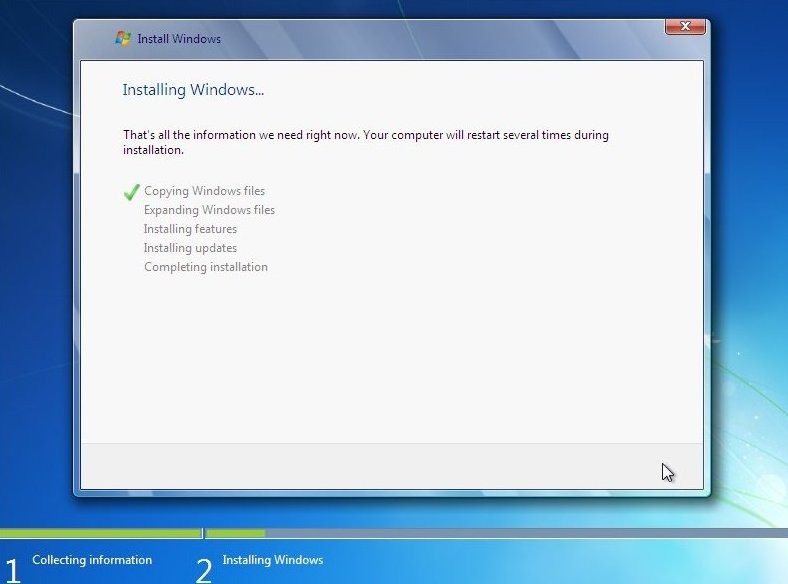 Windows 7 Installer Stuck At Expanding Windows Files - Download Free ...